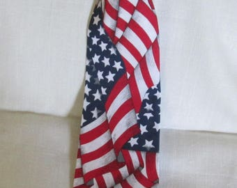 American Flag Novelty Necktie Adult