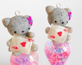 Baby Bear Shaker Charm