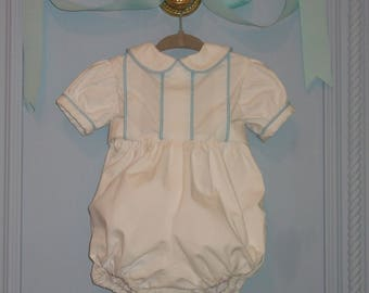 Cotton Baby Boy Bubble. 4 to 6 Months