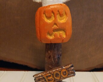 Boo on a stick