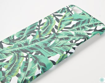 Palm leaves hard phone case for iPhone 6 6S