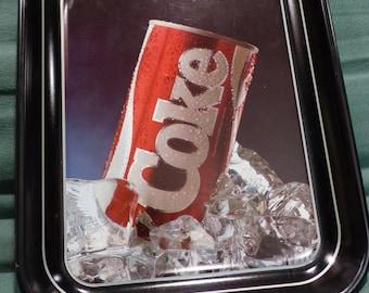Vintage 1985 Coca Cola Coke tray - New Taste Coke launch