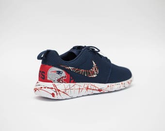 buy popular 52c7b b08a5 ... New England Patriots Nike Womens Shoes Custom made by Legendary shoes  available in all sizes ...