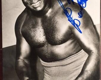 Bobo Brazil PP Autogrphed 4x6 photo