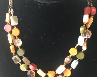 Pretty Bead Necklace [SKU61]