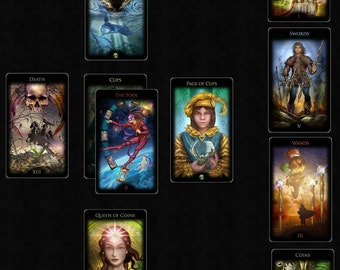10-card extremely detailed tarot reading