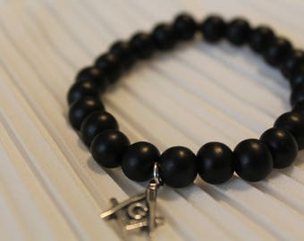 Masonic Charm Bracelet
