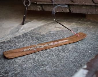 Incense holder wooden