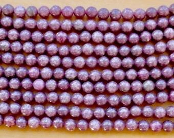 8mm Tourmaline beads, full strand, natural stone beads, round, 80101