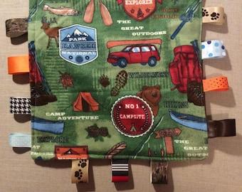 Camper Tag Blanket