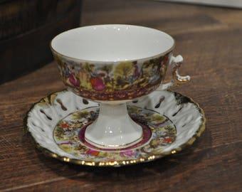 Tea Cup and Saucer -