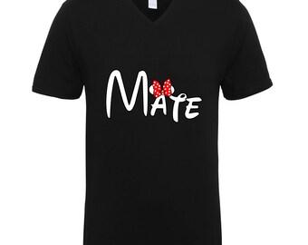 Soul Mate Mate Part Shirts Adult Unisex Men Size V Neck Best Seller T-Shirts