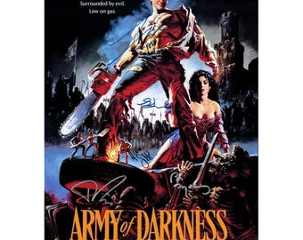 Script screenplay  Army of Darkness  Cast Signed Cover ( printed not hand signed) Plus free gift