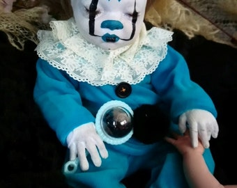 Scrooge Jones Clown artist reborn Doll collectible doll Reborn Baby