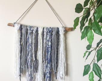Hydrangea: Yarn Wall Hanging