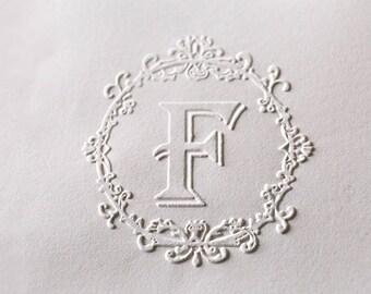 Custom Embosser stamp,wedding embosser,Custom Monogram Embosser, name embosser,Personalized Embosser, Wedding Embosser,wedding invite,