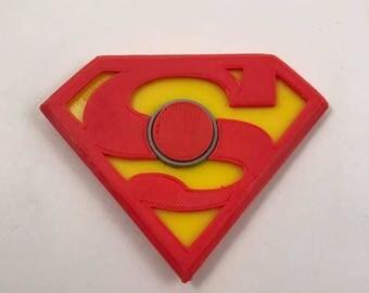 Superman Fidget Spinner