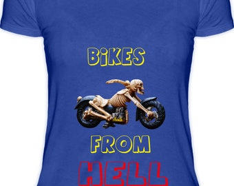 Bikes From Hell Female T-Shirt