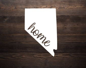 Nevada Home Decal