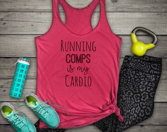 Realtor Tank, Running Comps Is My Cardio, Realtor, Real Estate, Fitness Tank, Realtor Tank, Broker, Broker Tank, Realtor Tshirt, Realtor Tee
