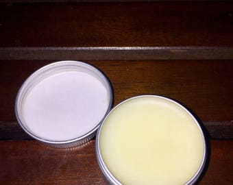 Lavender mint lip balm-nourishing for dry, chapped lips; protects against winter wind & weather