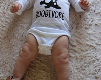 Breastfeeding shirt, Boobivore bodysuit