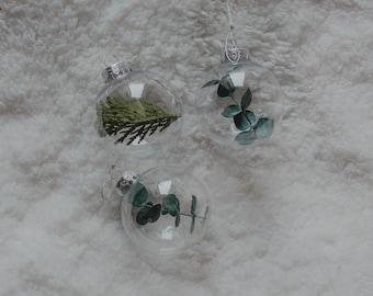 Ornaments, Eucalyptus Ornaments, Boho Ornaments, Boho Winter Decor, Ornament