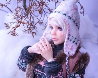 Norwegian Winter set/ BJD dress / BJD clothes / SD girl / 1/3 girl