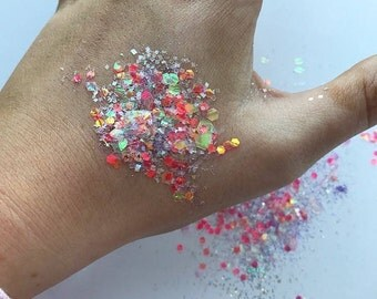 Candy cane NYE Glitter Collection