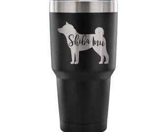 Shiba Inu Silhouette Tumbler