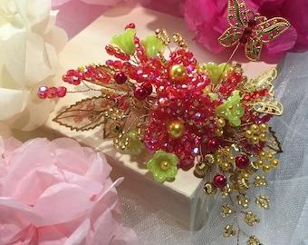 Wedding headpiece, Wedding hair piece, Bridal headpiece, Bridal hair piece