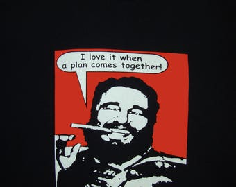 Fidel A Team t shirt