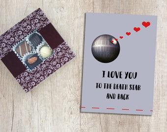 Star Wars Valentine Card | Star War Valentine | Printable Valentines Day | Valentine's Day Cards | Digital Download | Love Digital Download