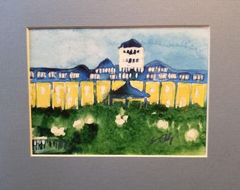 Grand Hotel Mackinac Island Watercolor