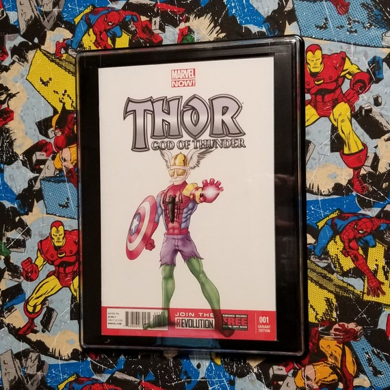 Thor God of Thunder #1 Blank Sketch Cover