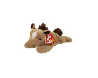 Ty Beanie Babies Derby the Horse fine hair 1995