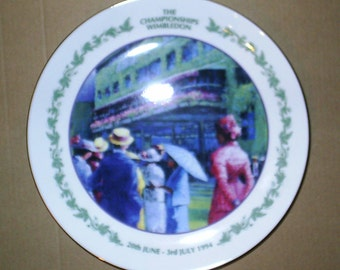Wedgwood Wimbledon Collection Large Round Plate Boxed