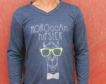 Moroccan Hipster long sleeve T-Shirt