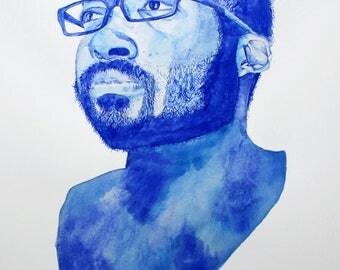 Custom Portrait - Watercolor