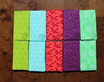 Padded Fabric Sunglasses Case, Glasses Case, Lightweight, Bright Sunglass Case, Eyeglass Case, Sunglasses Pouch