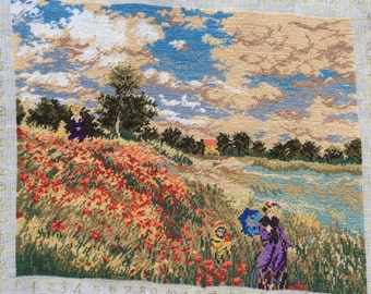 The Poppies Field - after C. Monet