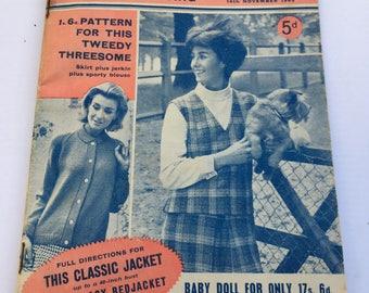 1963 Vintage Woman's Weekly Magazine