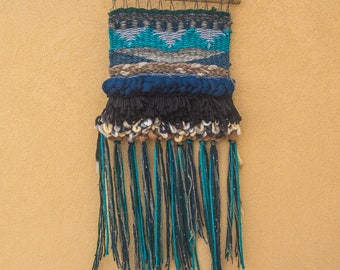 Fluffy Hills weave wall hanging