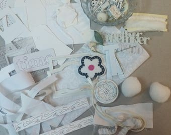 White Embellishments