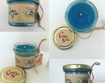 "Handmade candle ""Moana's Secrets"" 125 ml"