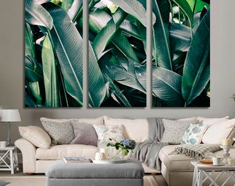 tropical leaves Wall Art 466