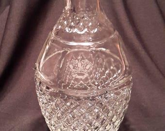 Crown Royal decanter