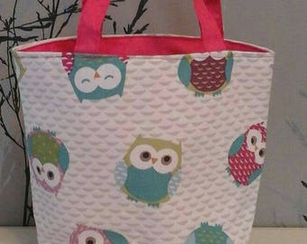 Beautiful Designer Fabric hand made Lunch bags