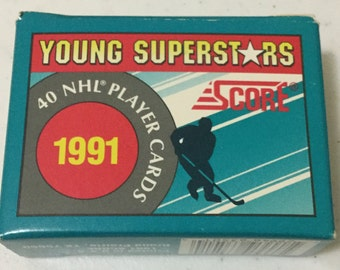 1991 Score NHL Young Superstars 40 Player Card Set!