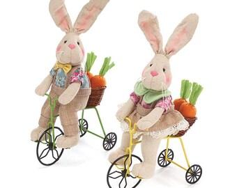 Bunnies on Bikes, Plush, Easter